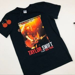 Taylor Swift The Red Tour Concert T Shirt S